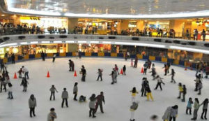 ice skating mal taman anggrek