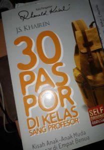 30 paspor di kelas sang profesor