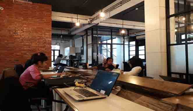 EV hive co working space jakarta