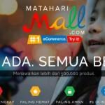 Situs Baru Mataharimall.com vs Lazada dkk