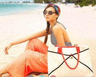 6 tas gaya untuk liburan pantai